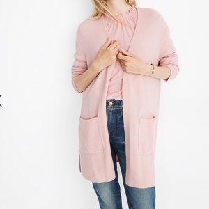 Madewell Kent Cardigan Coziest Yard Pink XS